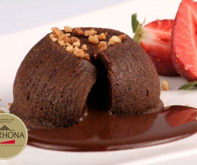Couland de chocolate Valrhona sin gluten foodVAC