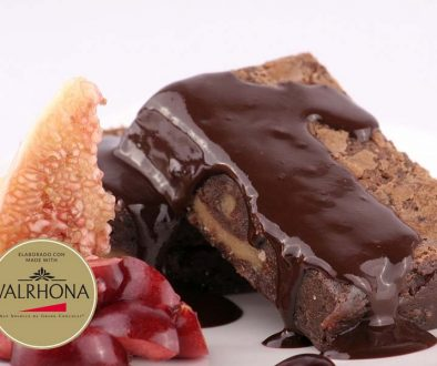 Brownie de chocolate sin gluten - foodVAC