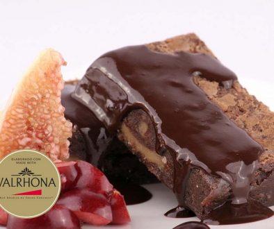 Brownie de chocolate sin gluten - foodVAC