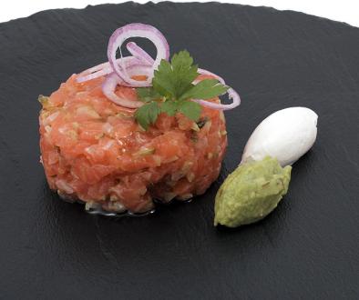 Tartar de salmón foodVAC | Productos Quinta Gama para Alta Cocina